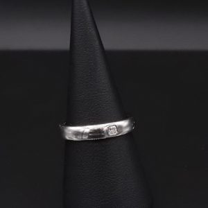 Tiffany & Co Lucida Platin Ring (JBKomm111)