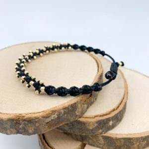 Armband *Spotty* mit kleine Goldperlen
